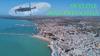 Skyline Manfredonia -Dji MAVIC PRO 4k- [Different way to live]
