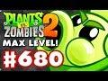 Sling Pea MAX LEVEL! - Plants Vs. Zombies 2 - Gameplay Walkthrough Part 680