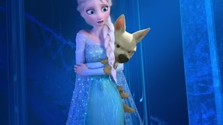 Miss Disney Elsa and Bolt