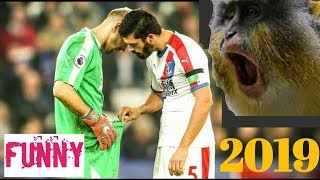 "FUNNY VIDEO LUCU SEPAK BOLA ""COMEDY Football 2019 HD"""