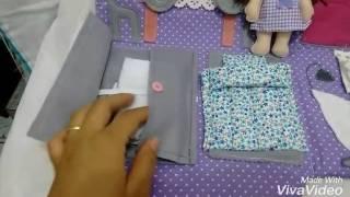 Bolsa casinha de boneca