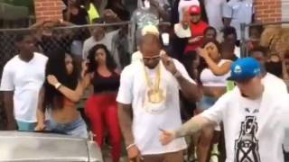 PAUL WALL, SLIM THUG, YOUNG DOLPH :  Shooting a Video [SNIPPET]