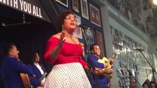 """La Santa Cecilia """"Amar y Vivir"""" live @ Amoeba Hollywood 5-8-17"""