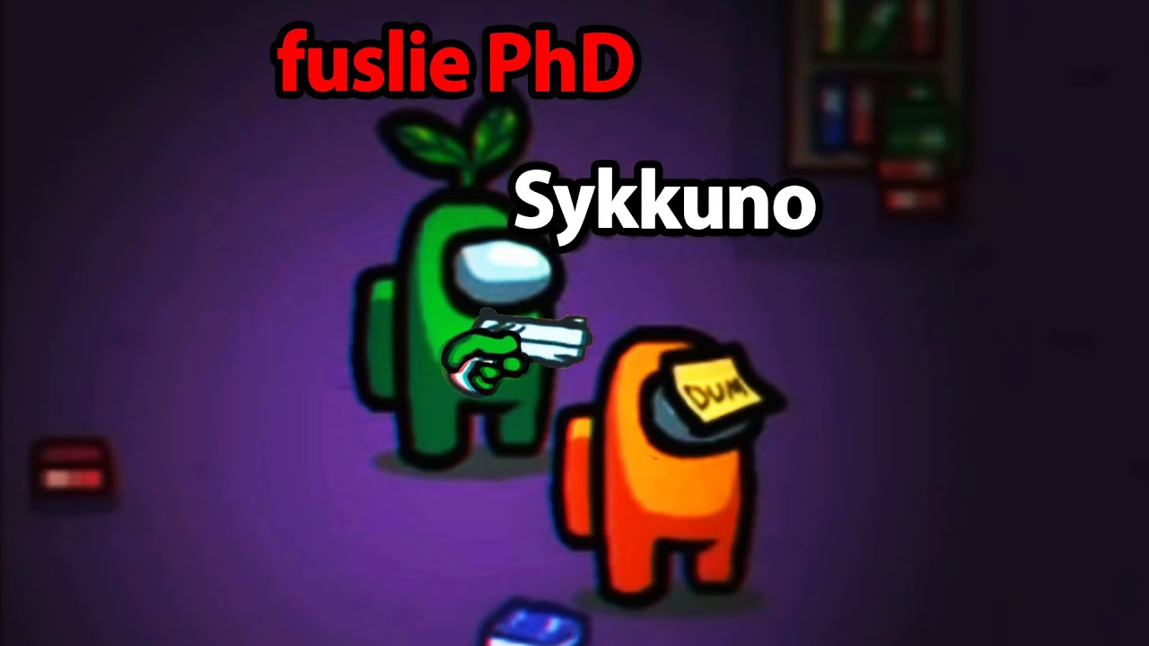 Fuslie - Sykkuno and Fuslie swapped roles in Among Us...