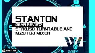 Stanton STR8.150 Turntable and M.207 DJ Mixer | WinkSound