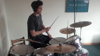 KONGOS - Come With Me Now - Drum Cover