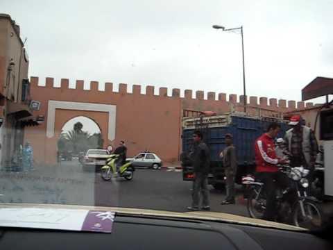 Driving in Marrakech 1