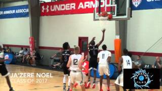 """Ja'Zere Noel is SMOOTH! 6'4"""" Wing With Playmaking Ability 