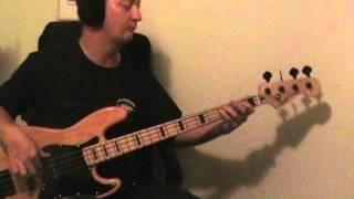 John Cougar Mellencamp - Pink Houses bass cover