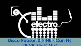 Disco Reason & PiNE - Can Fly (PiNE 'Slick' Mix)
