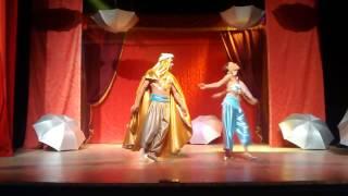 Aladim e o Roubo da Lâmpada Mágica - final
