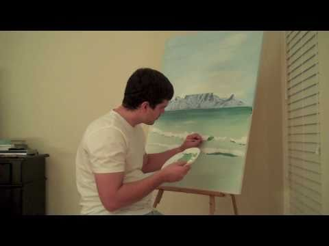 Painting Table Mountain – Justin Taylor