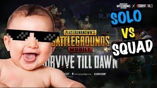 Solo vs Squad Zombie Mode EASYYYYYYY   Live Insaan