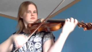 Sleeping Beauty Waltz Tchaikovsky violin Samantha Handwerk