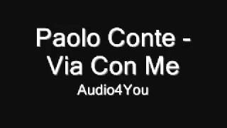 Paolo Conte - Via Con Me (lyrics)