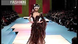 CHRISTIAN LACROIX Spring Summer 2002 Haute Couture Paris - Fashion Channel