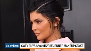 Kylie Jenner Sells Stake in Cosmetics Line to Coty for $600 Million
