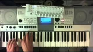 Johann Sebastian Bach - Toccata d-moll  - Yamaha PSR E-413 Live