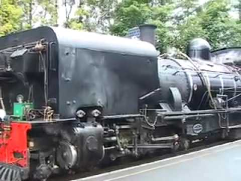 Beyer-Garratt No 143 on the Welsh Highland Railway Part 1 of 2