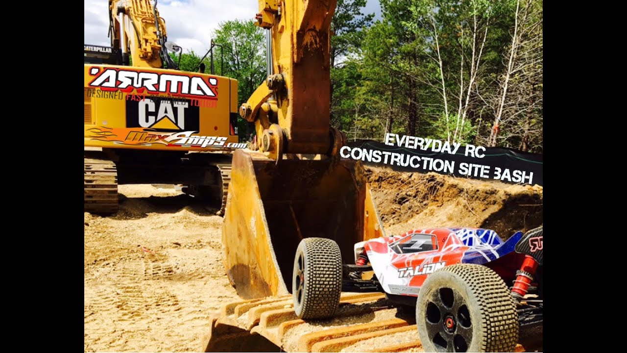 ARRMA TALION CONSTRUCTION SITE BASH