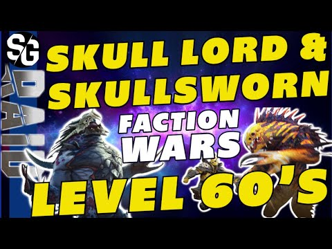 RAID SHADOW LEGENDS | SKULL LORD & SKULLSDWORN FACTION WARS CRYPTS | HOW ARE THEY?