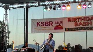 Dave Koz performs Somewhere Over The Rainbow at KSBR