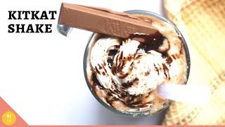 KitKat Milkshake - Easy Homemade Kit Kat Milkshake Recipe