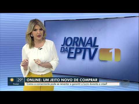 Entrevista concedida para a Eptv/Rede Globo sobre aumento do comércio eletrônico e as oportunidades