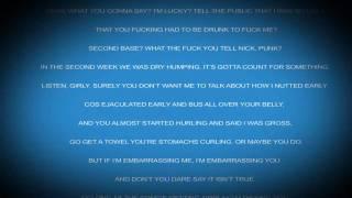 Eminem - The Warning (lyrics) +High Quality+ (Uncut)