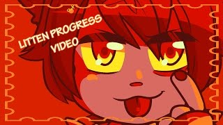 Litten 💗 Progress Video