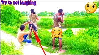 Mast watch new funny video 😁😁comedy video😁😁 #funfriendind