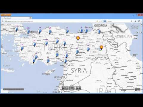 Shell World Bing Map