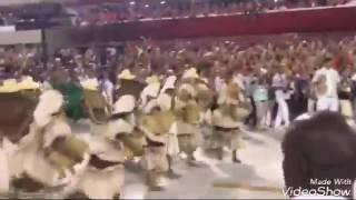 Ivete Sangalo no desfile das Escolas de sambas Campeãs 2017.O Rio se transformou na Bahia.