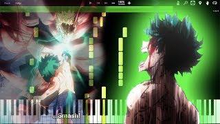You're My Hero! (1,000,000% DETROIT SMASH) - Boku no Hero Academia Season 3 OST (Piano Tutorial)