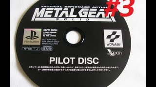 Metal Gear Solid 1 Pilot - [SLPM-80254] - Weapons and Items.