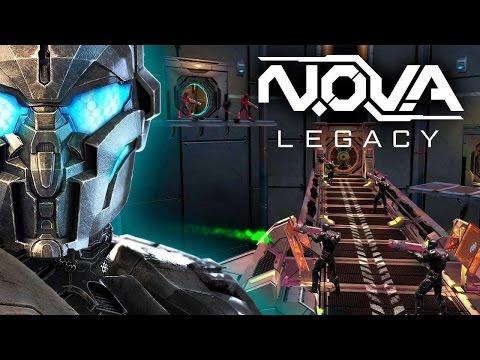N.O.V.A. Legacy Review (Prezentare joc pe Huawei P10/ Joc Android)