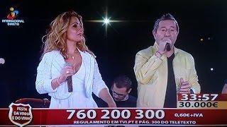Elena Correia feat Jose Malhoa«Baila a meu lado» Somos Portugal - TVI, Arruda dos Vinhos 20.11.16