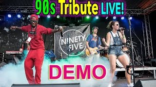 Coverband Ninety Five - 90er Partyband - DEMO: 90s Live Cover