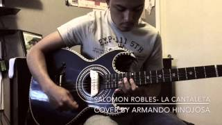 Salomón Robles- La Cantaleta/ bajo sexto cover