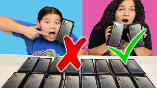 Don't Choose the Wrong iPhone 11 Pro Max SLIME Challenge