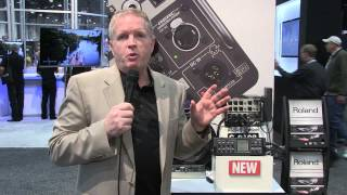 R-88 8+2 channel Field Recorder with Digital Snake at NAB 2013