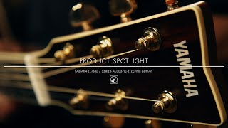 Product Spotlight - Yamaha LL16RD L Series Acoustic Electric Guitar