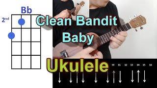 Clean Bandit Baby feat  Marina & Luis Fonsi Ukulele Cover