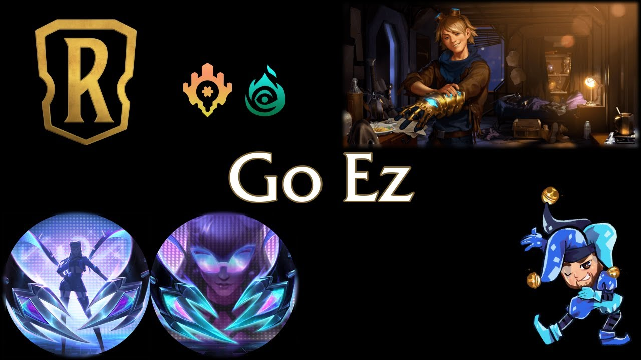 Jeff Hoogland - Go Ezreal Control - Legends of Runeterra Deck - January 21st, 2021