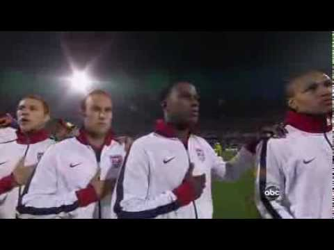National Anthems Football England Vs USA Fifa World Cup 2010 South Africa