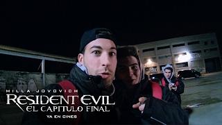 RESIDENT EVIL: EL CAPÍTULO FINAL. Experiencia Zombie con influencers. Ya en cines.