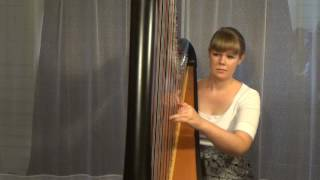 "Lily Allen ""Somewhere Only We Know"" - Harp arrangement"