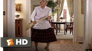 Mrs. Doubtfire (5/5) Movie CLIP - Looks Like a Lady (1993) HD
