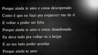 Mickael Carreira   Porque Ainda Te Amo letra
