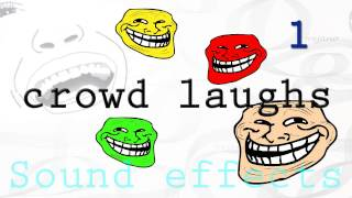 Sound Effects | Crowd laughs 1/2